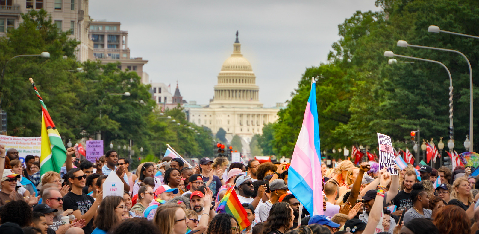 Photos from the Future: National Transgender Visibility March, Washington, DC USA