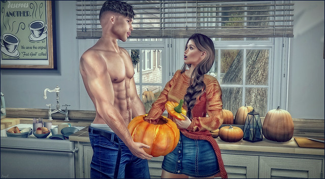 *Erm babe? This doesn't feel like pumpkin squash?* ❤️
