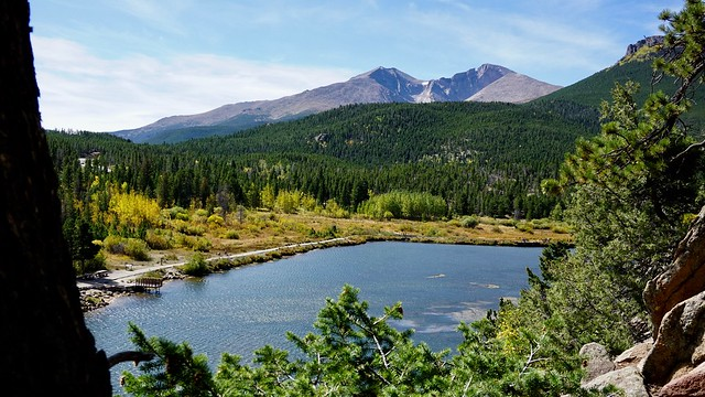Lily Lake with Meeker & Longs Peaks