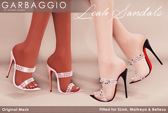 Leah Sandals Studded