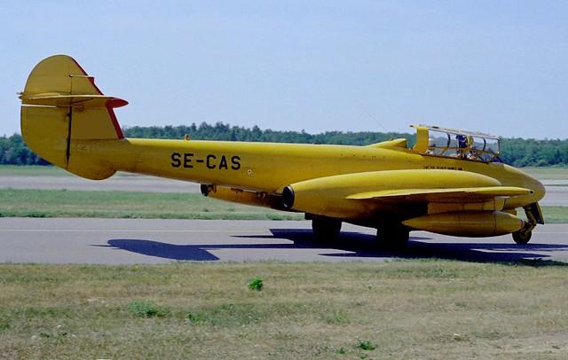 SE-CAS Gloster Meteor T7 BMA 19690624 kjell nilsson