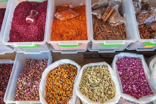 spice traveldestinations eurasia travel outdoors horizontal caucasus azerbaijan colorimage tradition tourism lahic herb ismaillidistrict