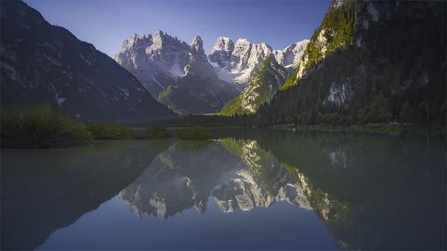 _DSC2490 Lago di Landro al mattino - Dobbiaco - Alto Adige / Italia