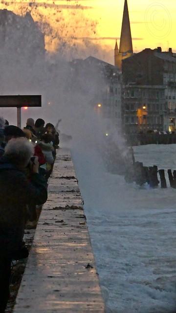C'est déjà commencé à Saint-Malo  . . .