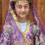 Girl In Traditional Costume, Lahıc, Azerbaijan