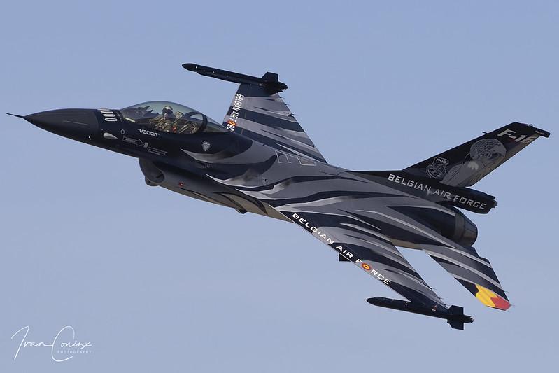 General Dynamics F-16AM Fighting Falcon – Belgium-Air Force – FA-101 – Kleine Brogel (EBBL) – 2019 09 14 – Inflight – 04 – Copyright © 2019 Ivan Coninx