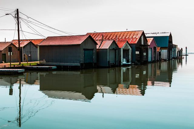 Port Rowan Boat Garages