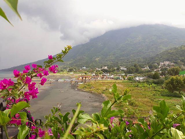 Rainy season. San Pedro la Laguna, #Guatemala. . . . . #travel #housesitting #locationindependent #amwriting #housesitter #digitalnomad #Sanpedrolalaguna #502 #soy502