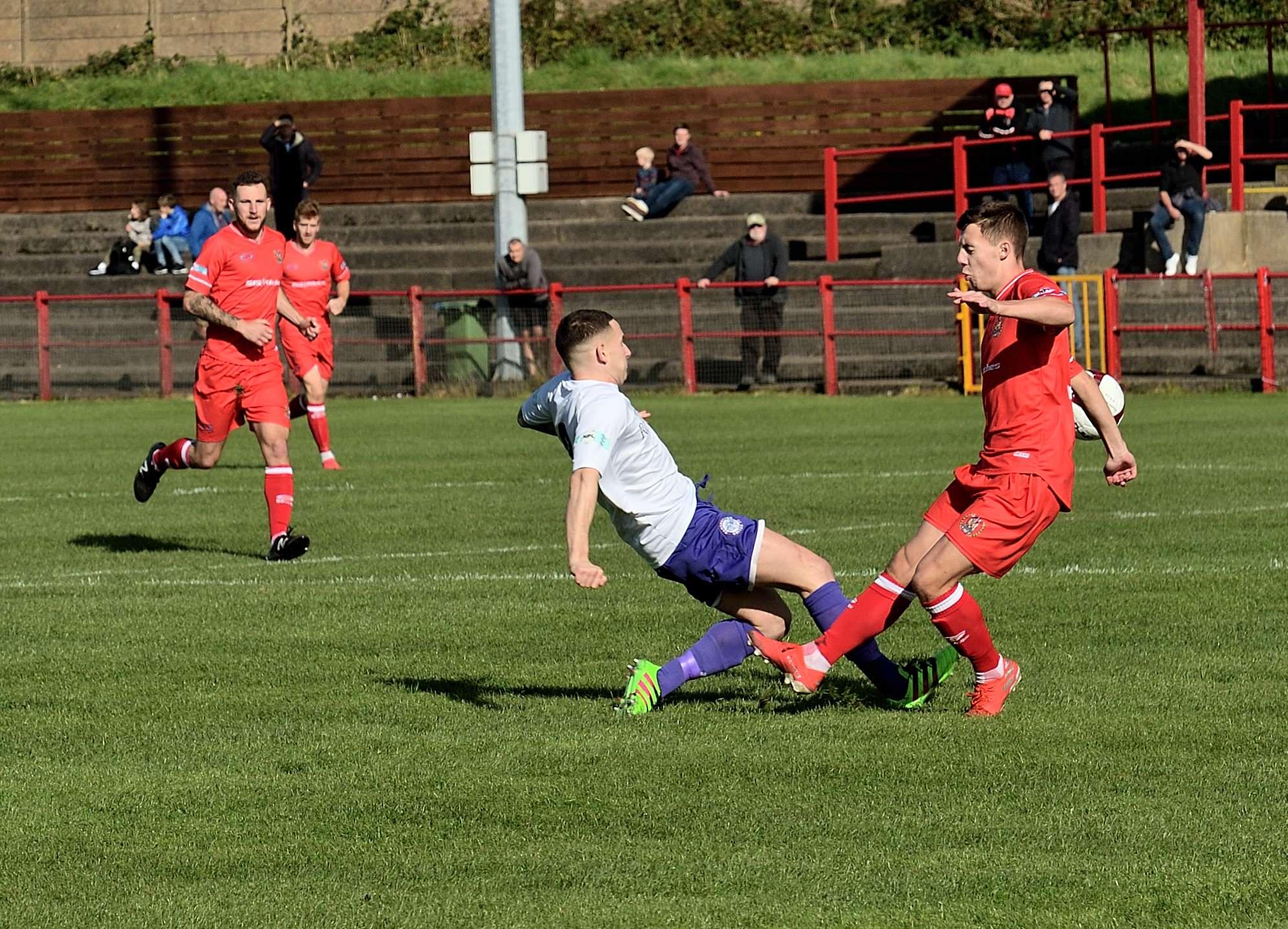 Workington 5 Rams 1 - Match Action