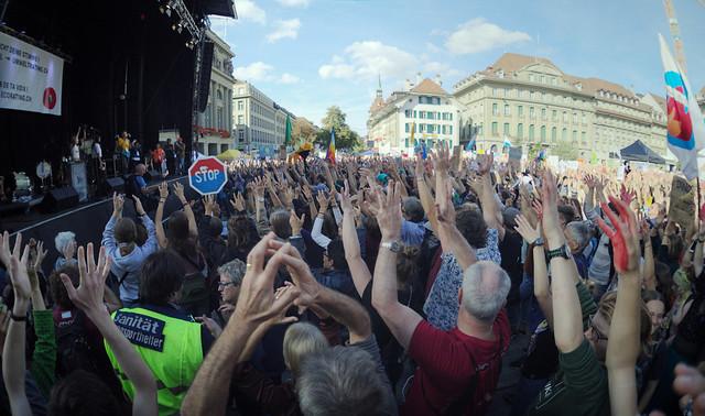 Climate Demonstration Berne 02