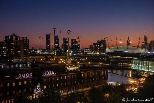 Docklands Afterglow