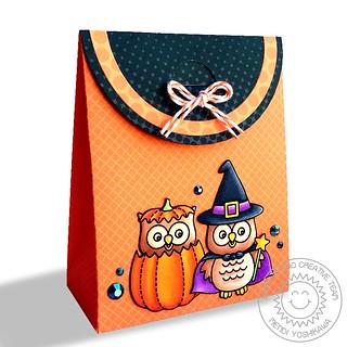 Sunny Studio Sweet Treats Halloween Gift Bag