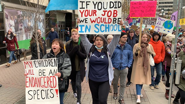 Climate Strike and March - Edmonton - September 27, 2019