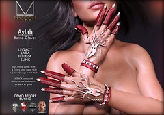 [[ Masoom ]] Aylah Bento gloves @ Salem Event