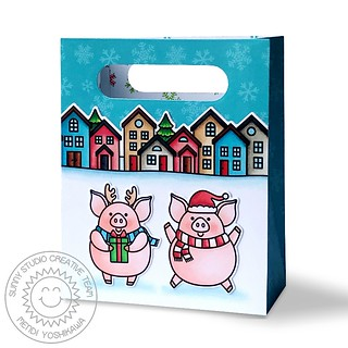 Sunny Studio Sweet Treats Pig Bag-Back