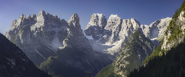_DSC2494_95  Il gruppo del Cristallo - Dobbiaco - Alto Adige / Italia