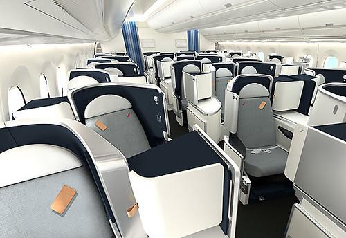 Air France A350-900 Business Class (Air France)