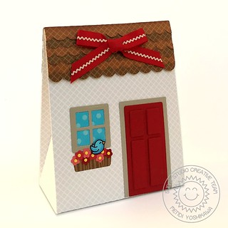 Sunny Studio Sweet Treats House Add-on Everyday Box-Front