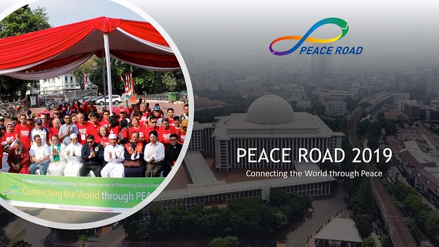 Indonesia-2019-08-10-Peace Road Event Held in Indonesia