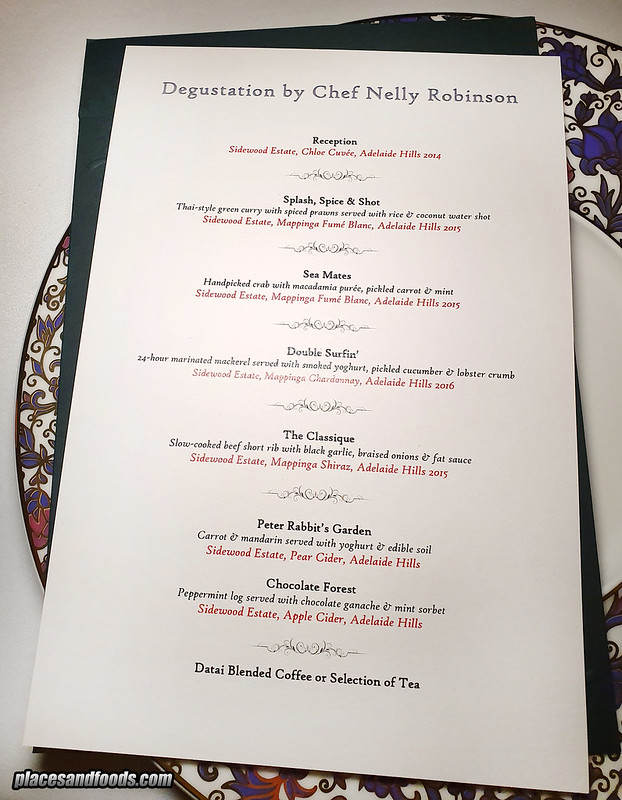 the datai chef series nelly robinson menu