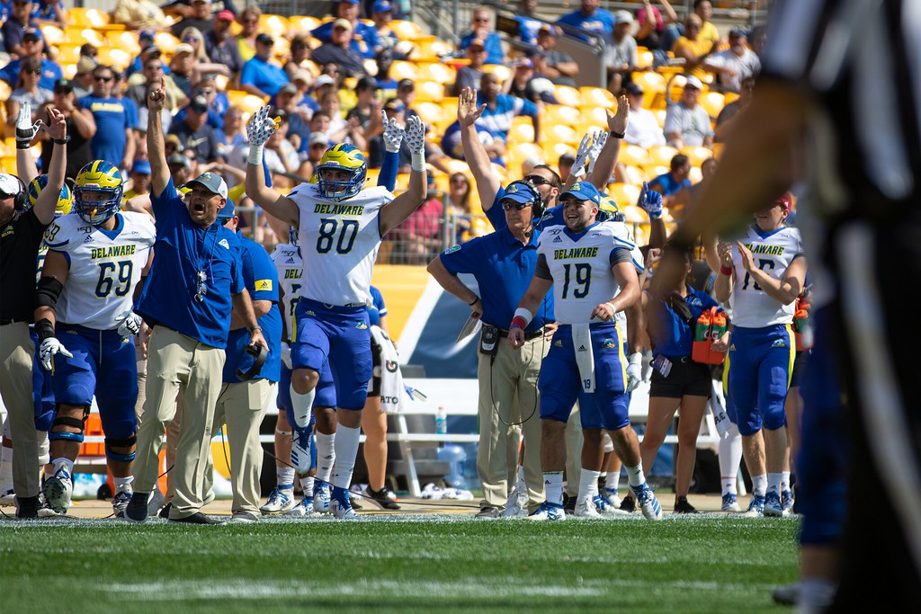 Blue Hens take ACC powerhouse Pitt to the wire, but come up short 17-14