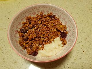 Pomegranate Granola