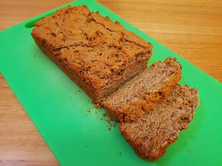 Carrot Cashew Loaf