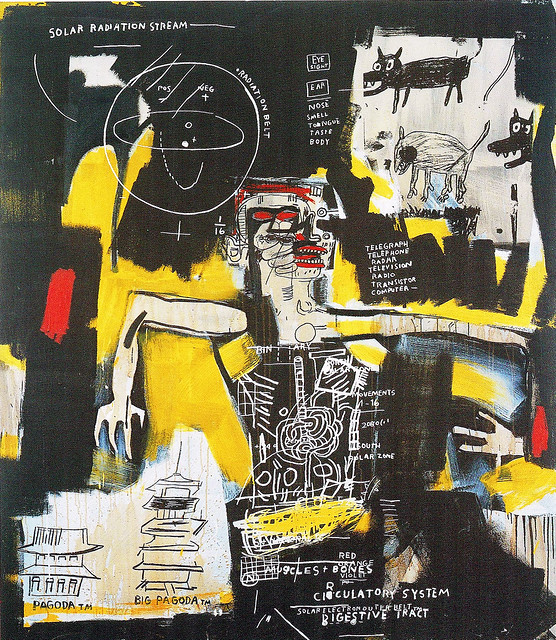 Untitled, 1984, acrylic and mixed media on canvas, 223.5×195.5㎝(貸出したPHARMAKON'90より)