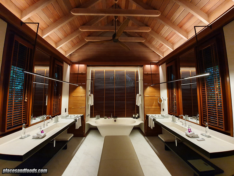the datai langkawi bathroom