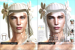 E.V.E Headpiece Sakura Single+Extension Pack@3x