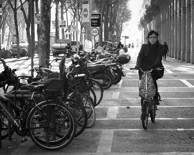 Part 2 Bicycling in Barcelona