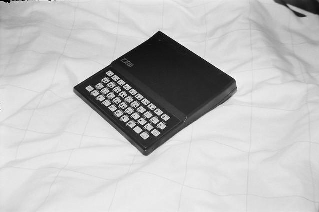 Sinclair ZX81 home computer