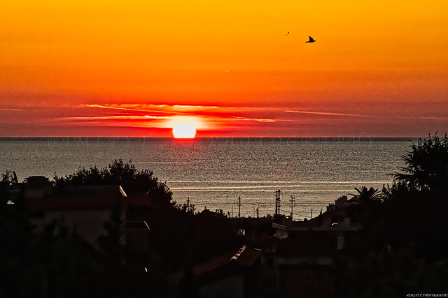 Lever de soleil à Antibes - Côte d'Azur France -3D0A3927