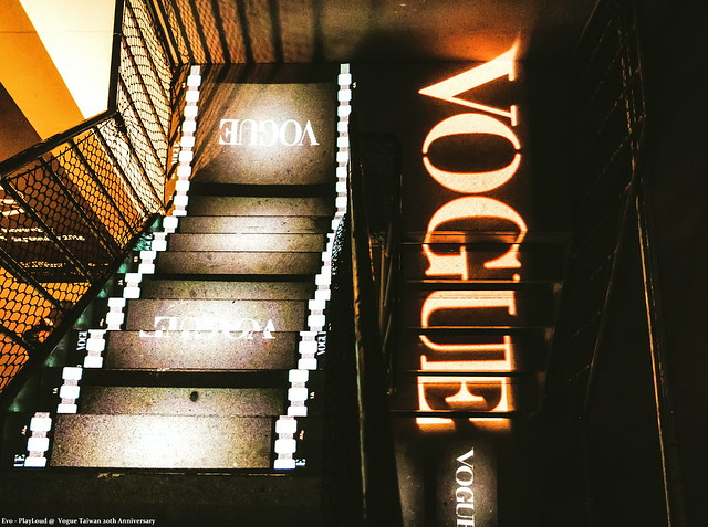 Cool Stairs@Vogue Taiwan 20th Anniversary......
