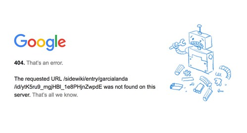 Adiós Google Sidewiki