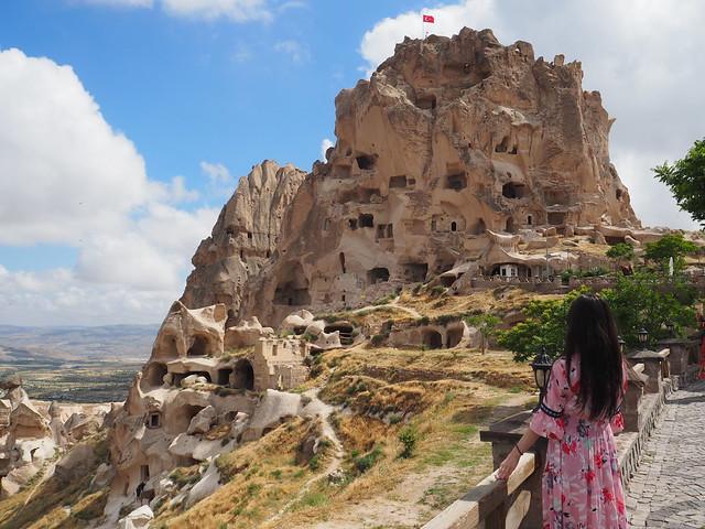 P6213929 トルコ カッパドキア Cappadocia ウチヒサール城 ひめごと