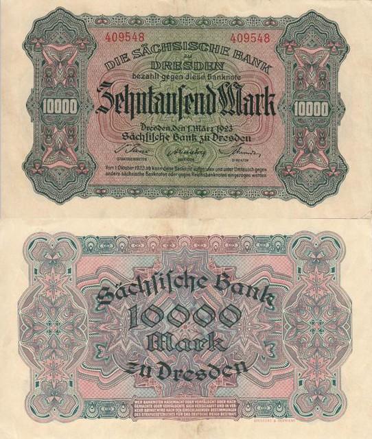 10 000 Mariek Sasko (Nemecko) 1923, SAX13