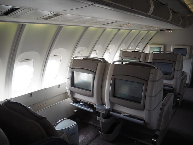 P9154864 Asiana アシアナ航空 ビジネスクラス business class シンガポール Singapore ひめごと