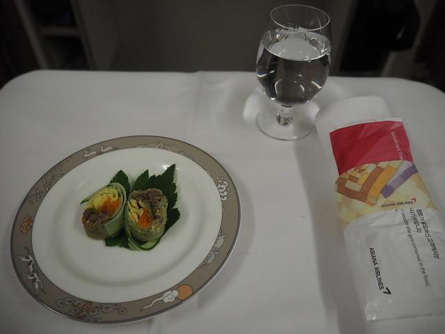 P9154904 Asiana アシアナ航空 ビジネスクラス business class シンガポール Singapore ひめごと