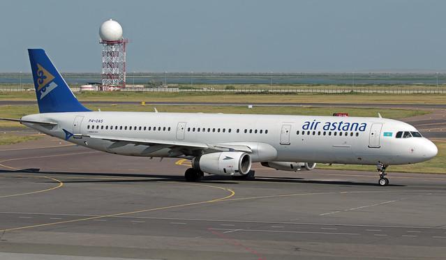 P4-OAS UAAA 15-07-2019 Air Astana Airbus A321-231 CN 1204