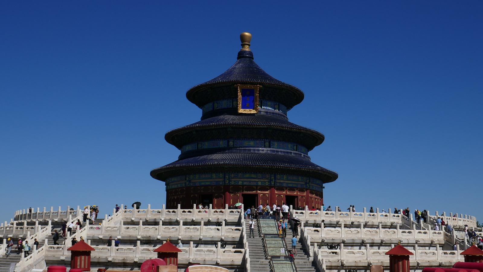 El maravilloso Templo de la Oración por la Buena Cosecha, una de las estampas icónicas de Pekín