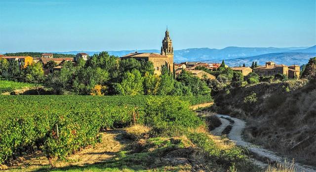 El pueblo de Ábalos. La Rioja.