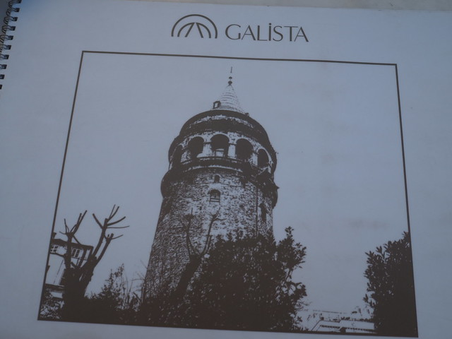 P6234530 GALiSTA Restaurant ガラタ塔 イスタンブール トルコ ひめごと