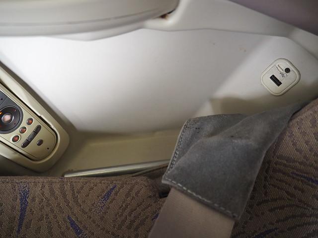 P9154870 Asiana アシアナ航空 ビジネスクラス business class シンガポール Singapore ひめごと