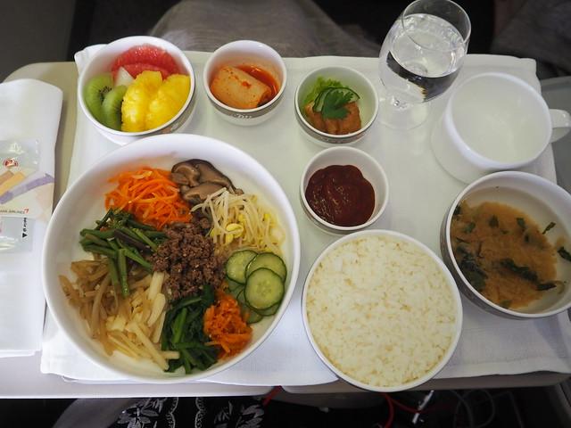 P9154876 Asiana アシアナ航空 ビジネスクラス business class シンガポール Singapore ひめごと