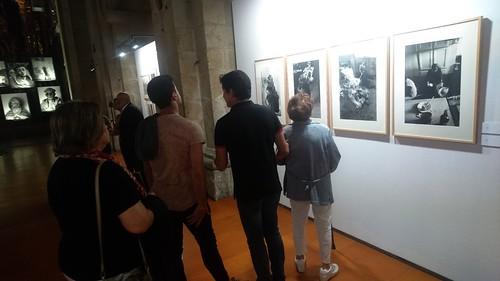 Exposición de fotografías de Ricard Terré na Igrexa da USC