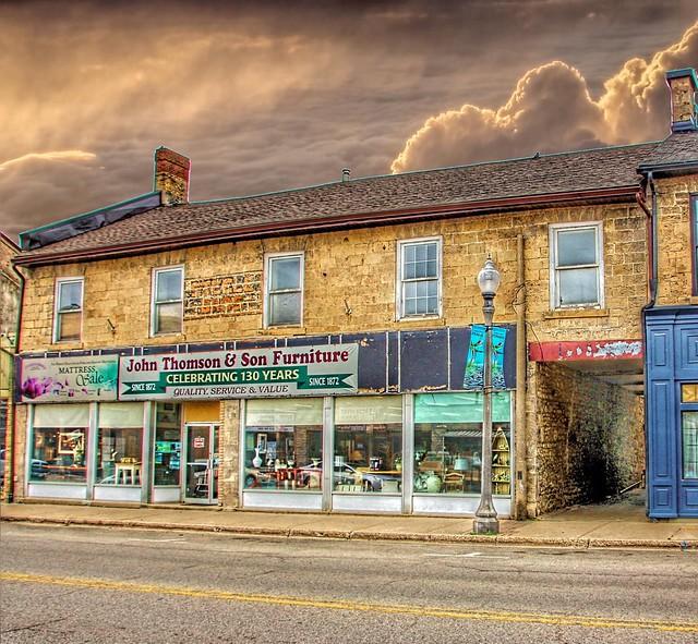 Fergus Ontario - Canada - John Thomson & Son Furniture Ltd - Heritage Building - Since 1872