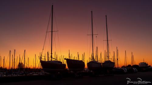Silhouettes at Sunrise (dawn)