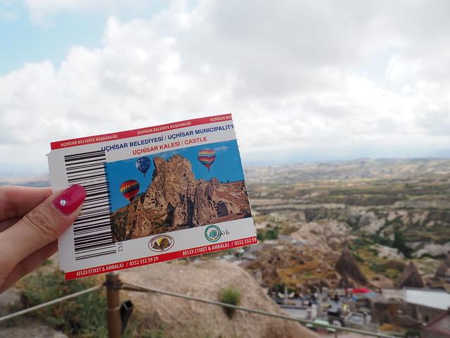 P6213874 トルコ カッパドキア Cappadocia ウチヒサール城 ひめごと