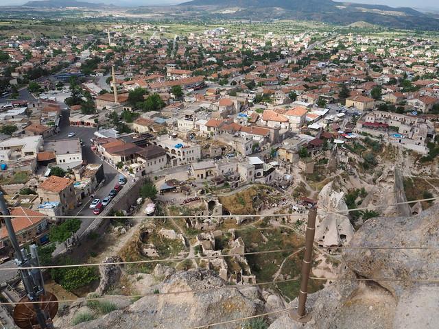 P6213881 トルコ カッパドキア Cappadocia ウチヒサール城 ひめごと